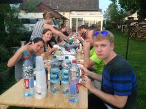 Abendessen in Ahldorf